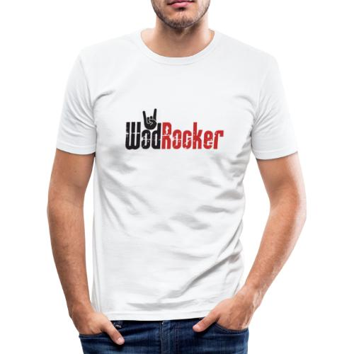 wodrocker logo - Men's Slim Fit T-Shirt