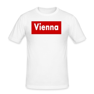 vienna - Männer Slim Fit T-Shirt