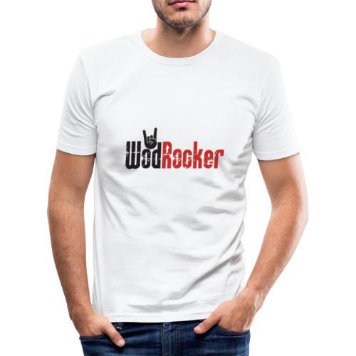 wodrocker logo - Men's Slim Fit T-Shirt