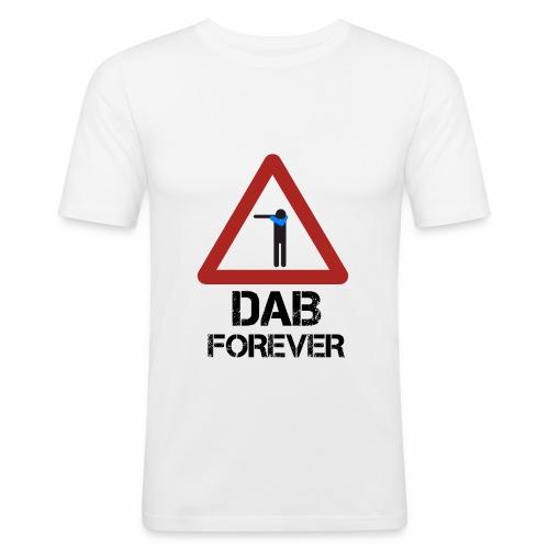 Dab Forever Red - Maglietta aderente da uomo
