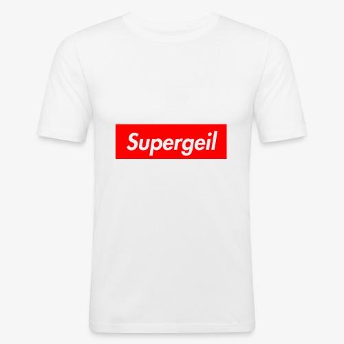 Supergeil - Männer Slim Fit T-Shirt
