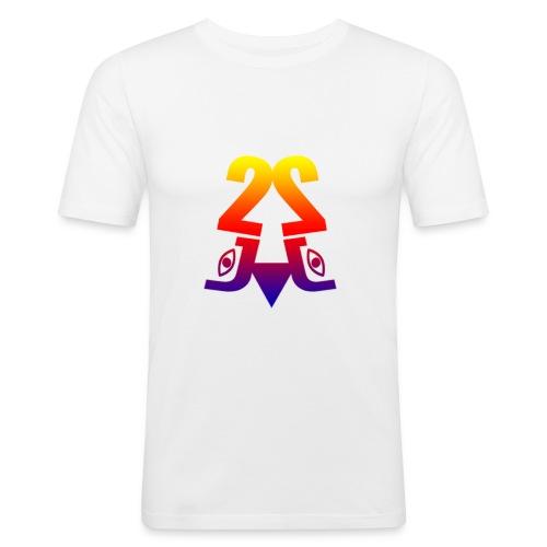 2J_LOGO_Beach - Herre Slim Fit T-Shirt