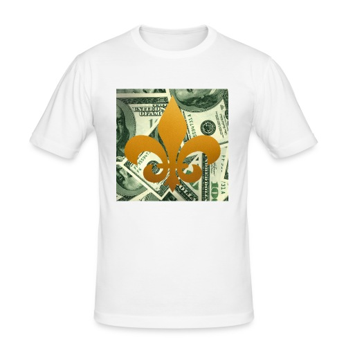 DonBehavior's fleur de lis - Men's Slim Fit T-Shirt
