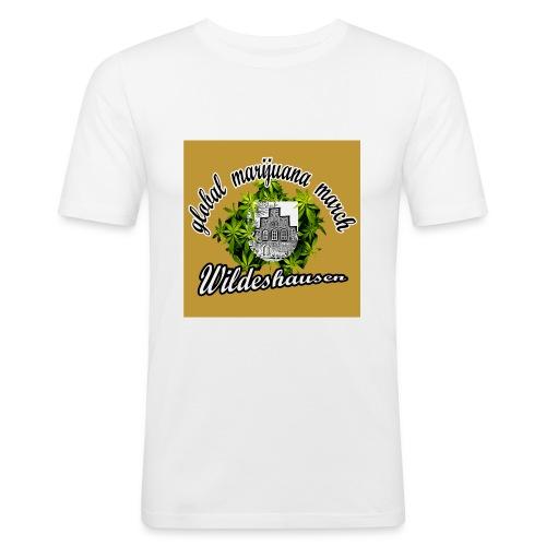gmm logo gechnitten quadtrat - Männer Slim Fit T-Shirt