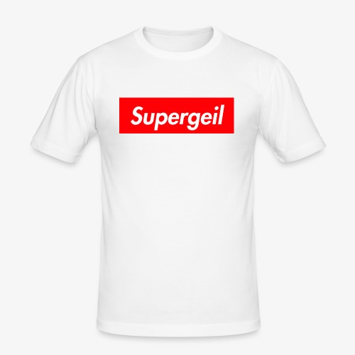 Supergeil - Männer Slim Fit T-Shirt