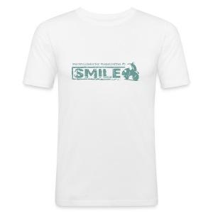 SMILE-Shirt 2018 - Männer Slim Fit T-Shirt