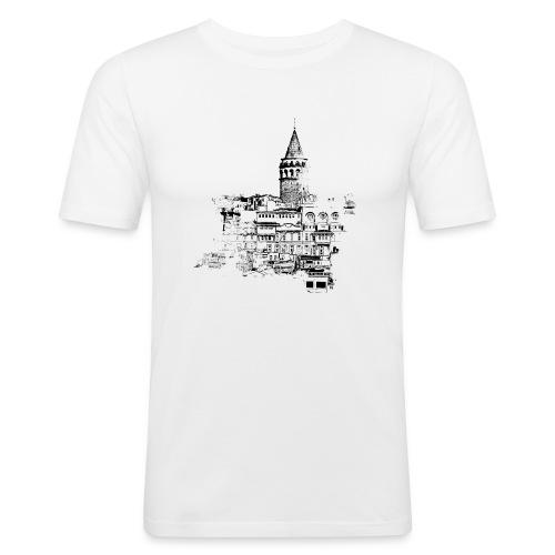 istanbul black - Männer Slim Fit T-Shirt