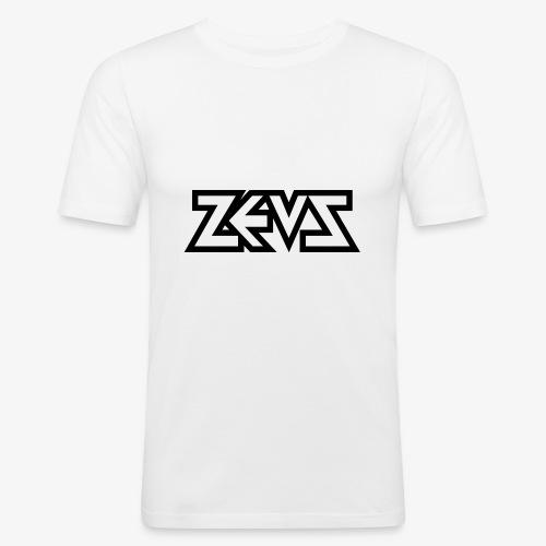 zeus logo b - Männer Slim Fit T-Shirt