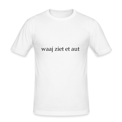 waaj ziet et aut - slim fit T-shirt
