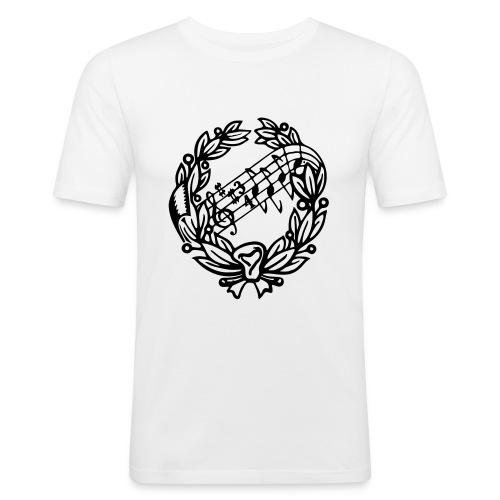 AS Black - Slim Fit T-shirt herr