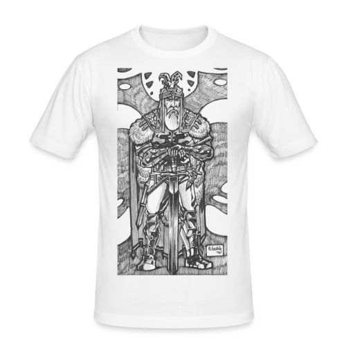 Hero - Männer Slim Fit T-Shirt
