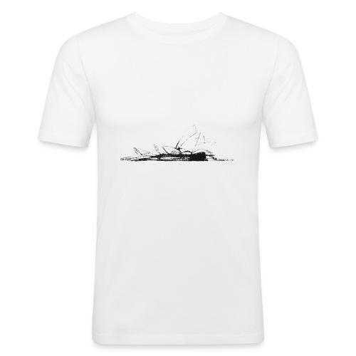 Opera de sidney - Camiseta ajustada hombre