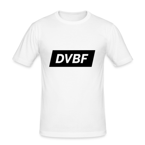 DVBF Svart - Slim Fit T-shirt herr