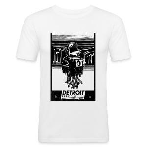 Detroit Electro - Männer Slim Fit T-Shirt