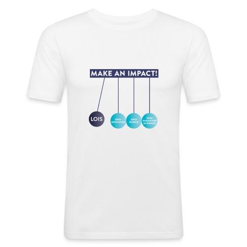 LOIS T-shirts Cohort 2018/2019 - Männer Slim Fit T-Shirt