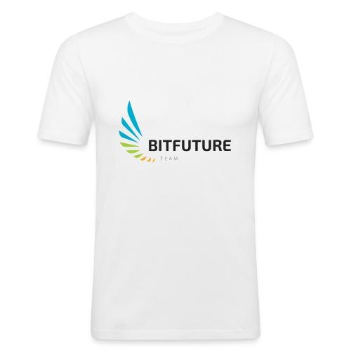 Team BitFuture - Männer Slim Fit T-Shirt