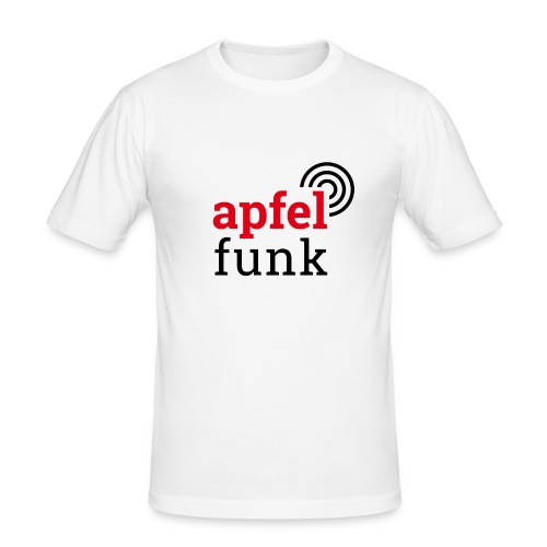 Apfelfunk Edition - Männer Slim Fit T-Shirt