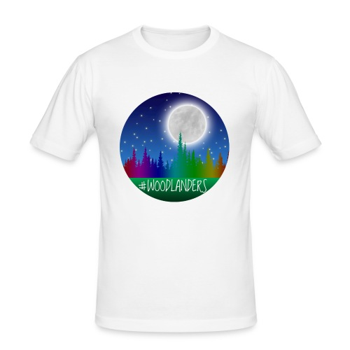 #Woodlander - Men's Slim Fit T-Shirt