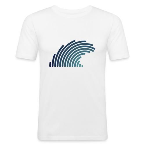 Blue Wave - T-shirt près du corps Homme