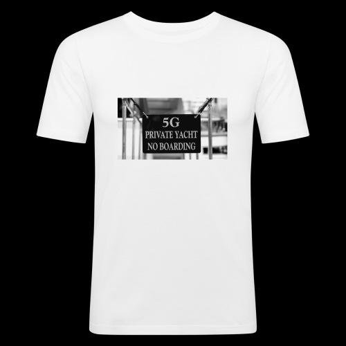 Monaco-Style - Männer Slim Fit T-Shirt