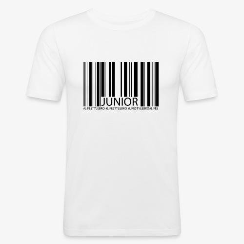 THE BARCODE - Männer Slim Fit T-Shirt