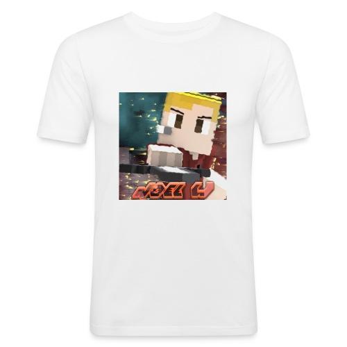 Noel W - Männer Slim Fit T-Shirt