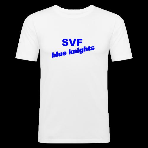 SVF-blue-knights blau - Männer Slim Fit T-Shirt