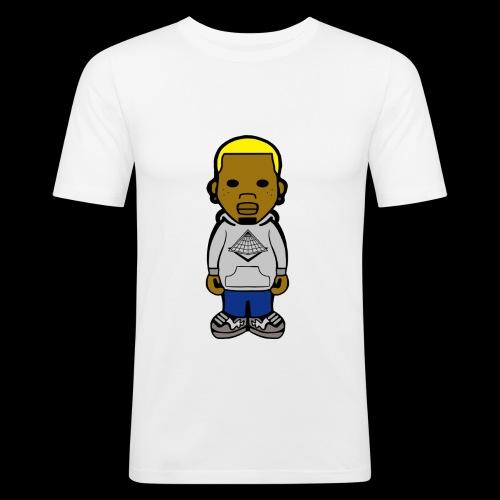 Chris Brown Breezy Tee - Männer Slim Fit T-Shirt