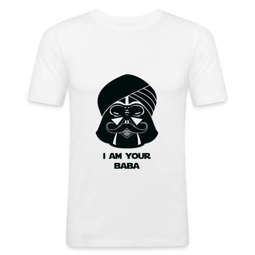 baba_tshirt-01 - Men's Slim Fit T-Shirt