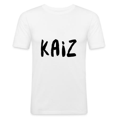 KAIZ LOGO 2 - Maglietta aderente da uomo