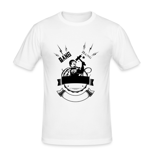 bang bang - T-shirt près du corps Homme