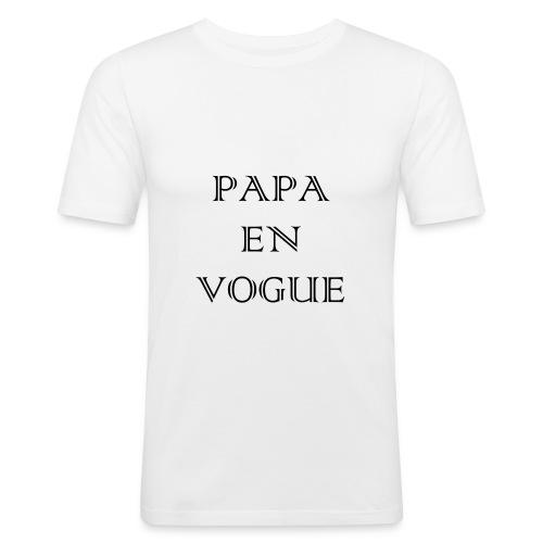 Papa en vogue - T-shirt près du corps Homme