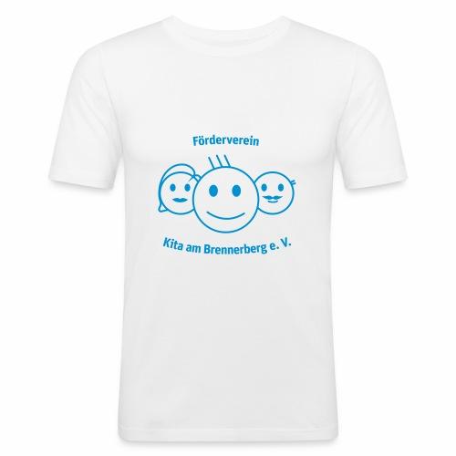 Logo Förderverein - Männer Slim Fit T-Shirt