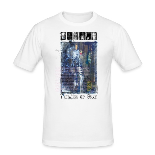 7 shades of Gray - Tee shirt près du corps Homme