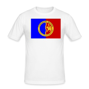 1200px Flag of the Comanche Nation svg - Tee shirt près du corps Homme