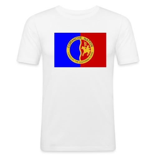 1200px Flag of the Comanche Nation svg - T-shirt près du corps Homme