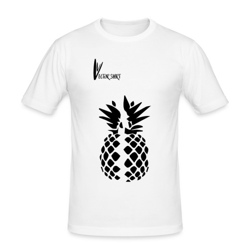 Broken Pineapple - Vector Shirt - T-shirt près du corps Homme