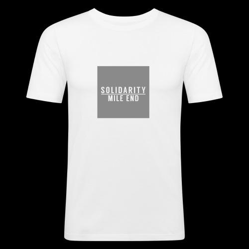 MILE END - Men's Slim Fit T-Shirt