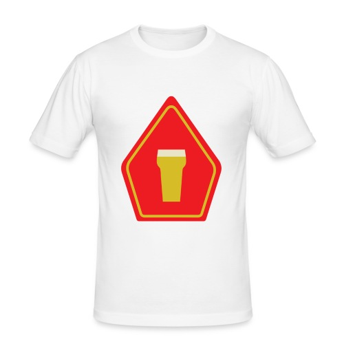 Quinterklaas shirt - mijter zonder lijn - slim fit T-shirt