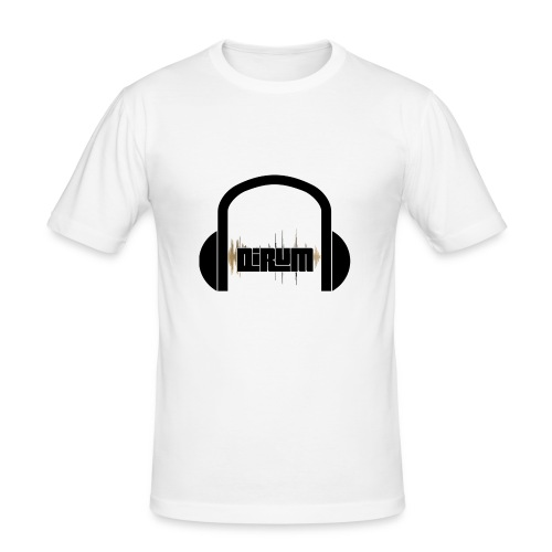 sound dirum - Männer Slim Fit T-Shirt