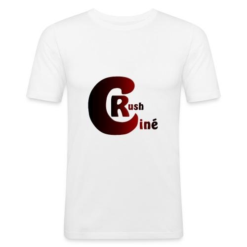Logo Ciné Rush - T-shirt près du corps Homme