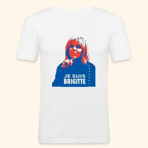 Je suis Brigitte - T-shirt près du corps Homme