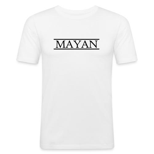 Mayan Logo - slim fit T-shirt