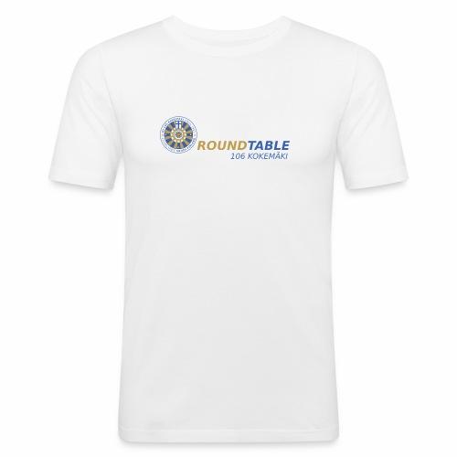 RT106 RoundTable 106 Kokemäki - Miesten tyköistuva t-paita