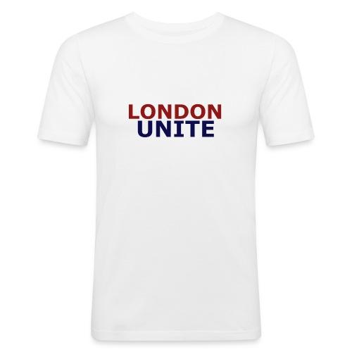 London Unite White T-Shirt - Men's Slim Fit T-Shirt
