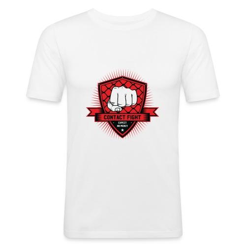 Contact Fight Classic - Männer Slim Fit T-Shirt
