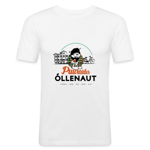 Õllenaut Puuraidur - Men's Slim Fit T-Shirt