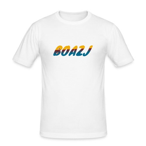 BoazJ Logo - slim fit T-shirt