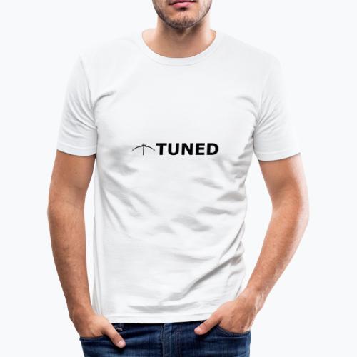 TUNED - Redécouvrez la radio Monochrome - T-shirt près du corps Homme