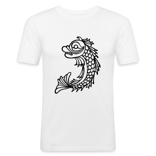 grenoble dauphin - Tee shirt près du corps Homme